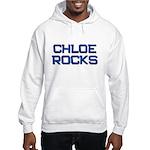 chloe rocks Hooded Sweatshirt