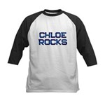 chloe rocks Kids Baseball Jersey