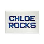 chloe rocks Rectangle Magnet (10 pack)