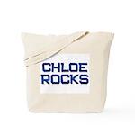chloe rocks Tote Bag