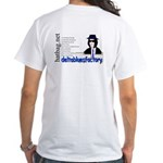 'Hatbag Blues' White T-Shirt