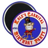 "Kole's 2nd birthday 2.25"" Magnet (10 pack)"