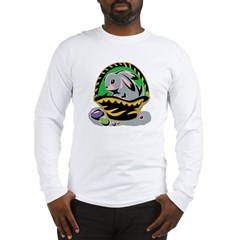 Easter Bunny Basket Long Sleeve T-Shirt