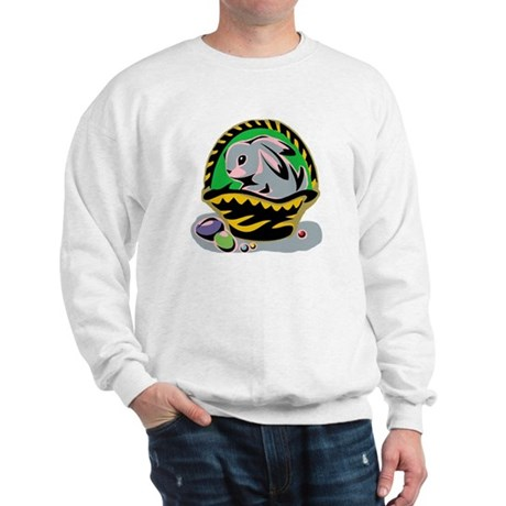 Easter Bunny Basket Sweatshirt