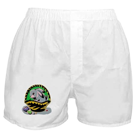 Easter Bunny Basket Boxer Shorts