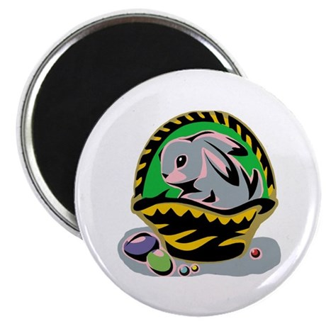 "Easter Bunny Basket 2.25"" Magnet (100 pack)"