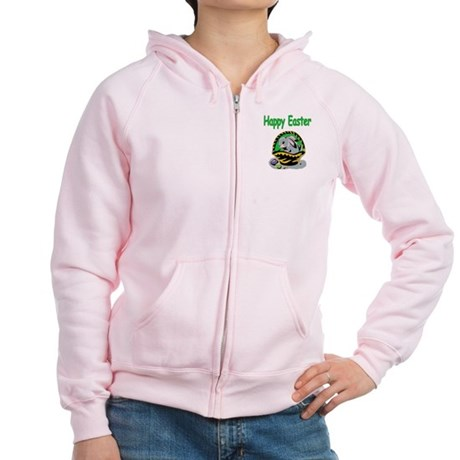 Happy Easter Basket Women's Zip Hoodie