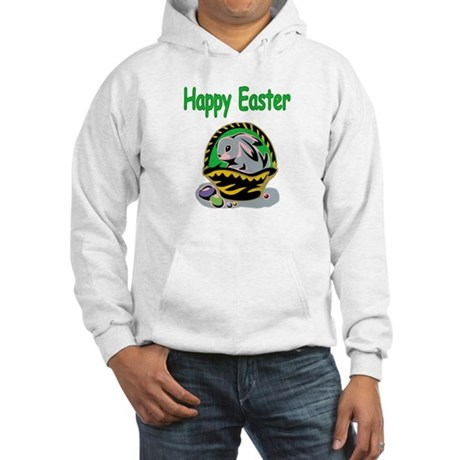 Happy Easter Basket Hooded Sweatshirt