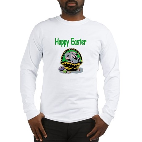 Happy Easter Basket Long Sleeve T-Shirt