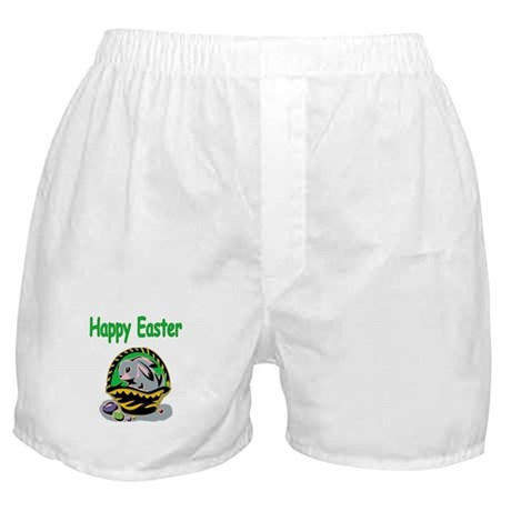 Happy Easter Basket Boxer Shorts