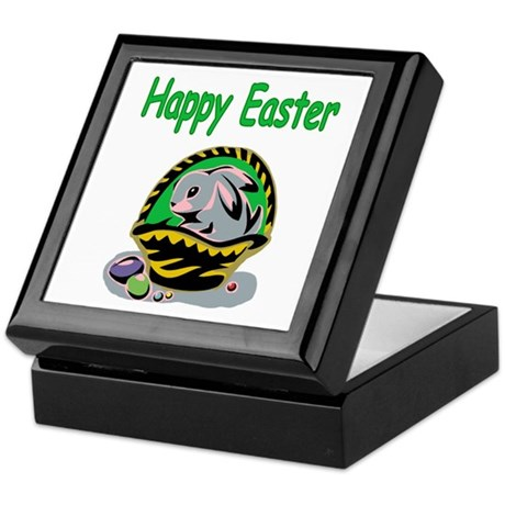 Happy Easter Basket Keepsake Box