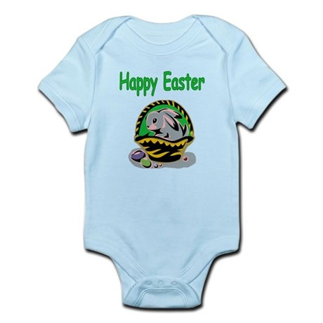 Happy Easter Basket Infant Bodysuit