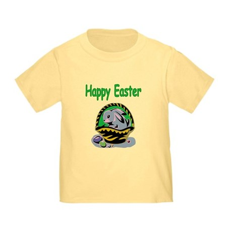 Happy Easter Basket Toddler T-Shirt