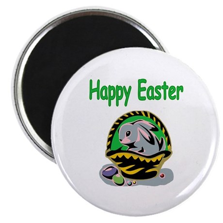 "Happy Easter Basket 2.25"" Magnet (10 pack)"