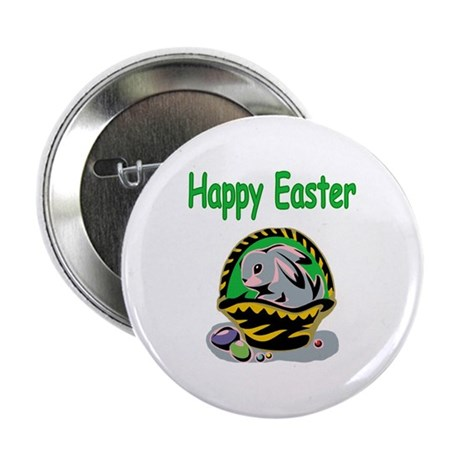 "Happy Easter Basket 2.25"" Button"