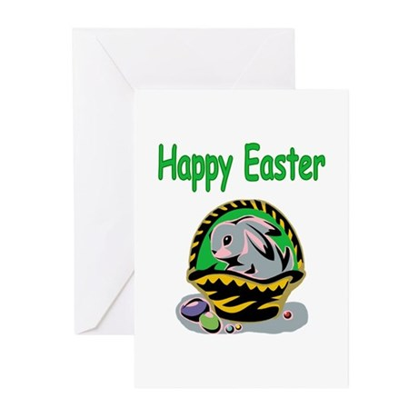 Happy Easter Basket Greeting Cards (Pk of 20)