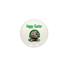 Happy Easter Basket Mini Button (100 pack)