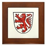 Brunswick / Duchy of Brunswic Framed Tile