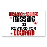 Husband & Edward Missing TWILIGHT Decal