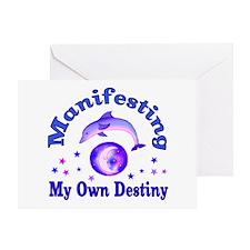 Manifest Own Destiny Greeting Card
