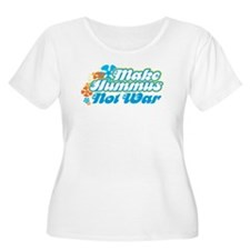 Make Hummus Not War T-Shirt