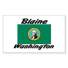 Blaine Washington Rectangle Decal