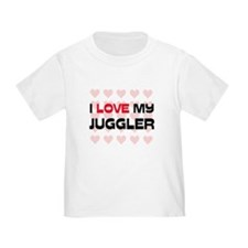 I Love My Juggler T