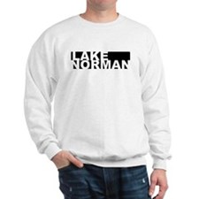 Lake Norman (black and white) Sweatshirt