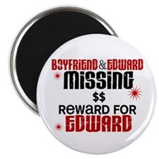 Boyfriend & Edward Missing TWILIGHT Magnet