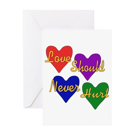 End Domestic Violence Greeting Card