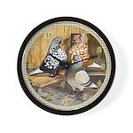 Domestic Flights Wall Clock