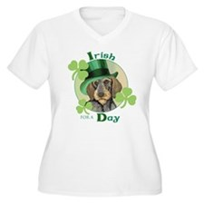 St. Pat Wirehaired Dachshund T-Shirt
