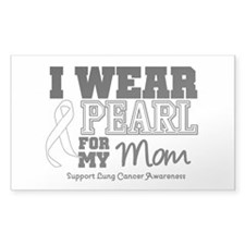 IWearPearl Mom Rectangle Sticker 10 pk)