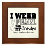 IWearPearl Grandpa Framed Tile