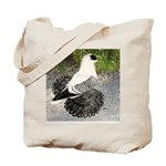 Swallow Pigeon In Field Tote Bag