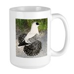Swallow Pigeon In Field Large Mug