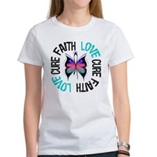 ThyroidCancer FaithLoveCure Tee