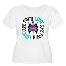 ThyroidCancer FaithLoveCure T-Shirt
