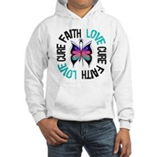 ThyroidCancer FaithLoveCure Hoodie