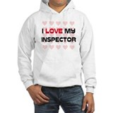 I Love My Inspector Jumper Hoody