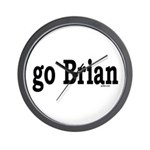 go Brian Wall Clock