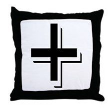 """Algerian - Symbol +"" Throw Pillow"