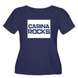 carina rocks Women's Plus Size Scoop Neck Dark T-S