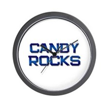 candy rocks Wall Clock