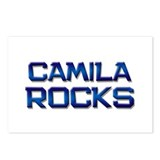 camila rocks Postcards (Package of 8)