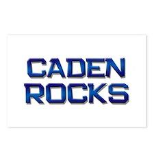 caden rocks Postcards (Package of 8)