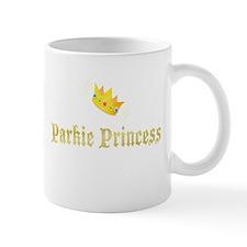 Gold Parkie Princess Mug