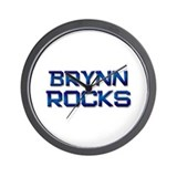 brynn rocks Wall Clock