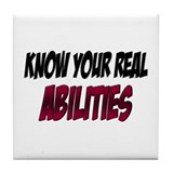 Real Abilities Tile Coaster