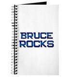 bruce rocks Journal
